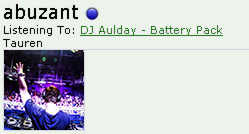 Ruslan Abuzant is currently listening to DJ Aulday - Battery Pack