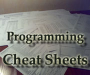 Programming cheat-sheets project