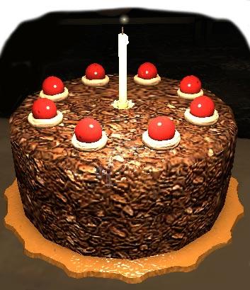 birthday portal cake