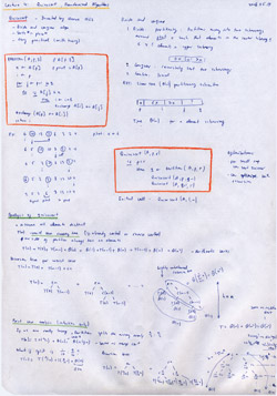 MIT Algorithms Lecture 4 Notes Thumbnail. Page 1 of 2.