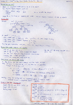 MIT Algorithms Lecture 5 Notes Thumbnail. Page 1 of 2.