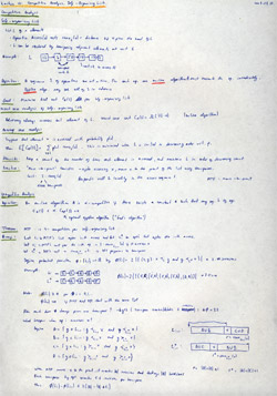 MIT Algorithms Lecture 13 Notes Thumbnail. Page 1 of 2.