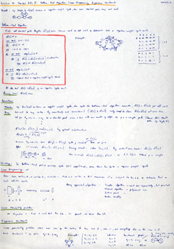 MIT Algorithms Lecture 18 Notes Thumbnail. Page 1 of 2.