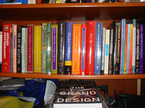 My 100 Favorite Programming, Computer and Science Books: Part Five