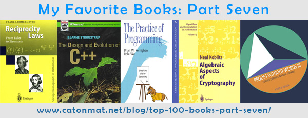 My Favorite 100 Programming, Computer and Science Books: Part Seven
