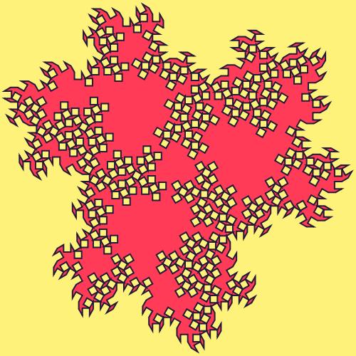 - cesaro polyflake fractal - Fractal Generators, Part 4