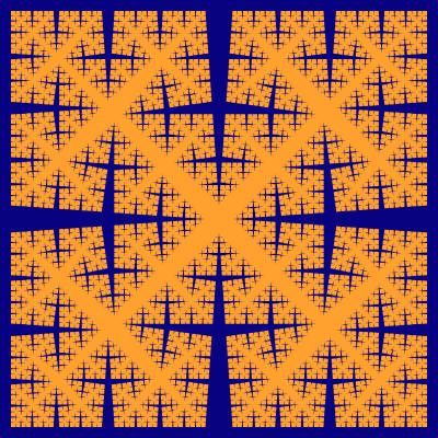 - cesaro torn square fractal - More Fractal Curve Generators