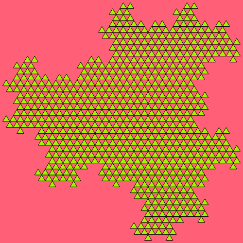 - heighway triangle fractal - Fractal Generators, Part 4