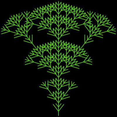 - l system fractal tree - L-system Generator