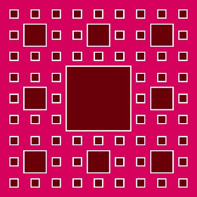 - sierpinski carpet fractal - More Fractal Curve Generators