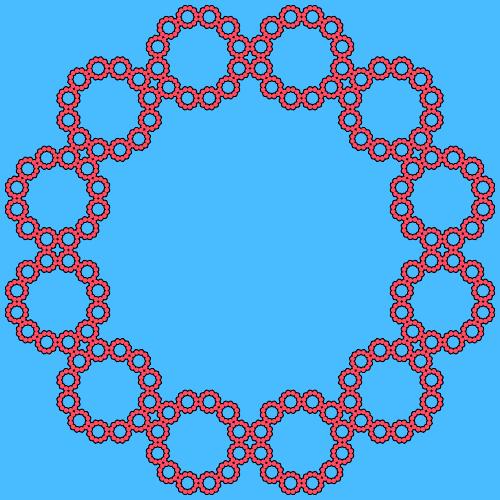 - sierpinski ngon fractal - Fractal Generators, Part 4