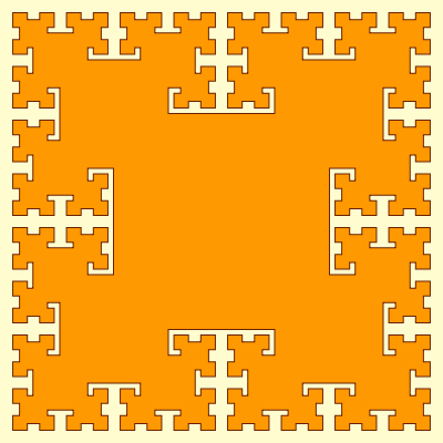 - t square fractal - More Fractal Curve Generators