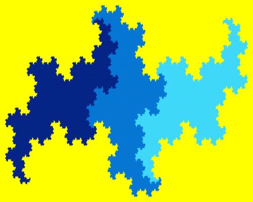 - terdragon fractal - Even More Fractal Curve Generators