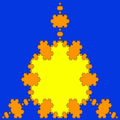 - triflake fractal - Even More Fractal Curve Generators