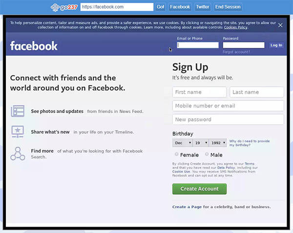 - go237 facebook - Browserling enables Cameroonians to stay connected on social media