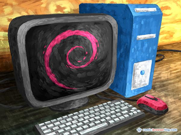 - happy 25 birthday to debian linux - Happy 25th birthday to Debian Linux!