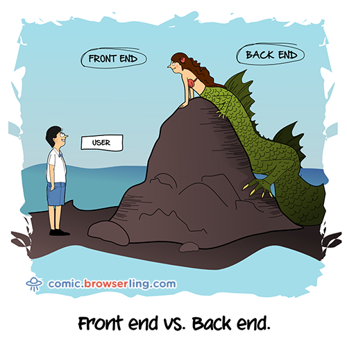 Frontend vs. Backend. Full Stack.