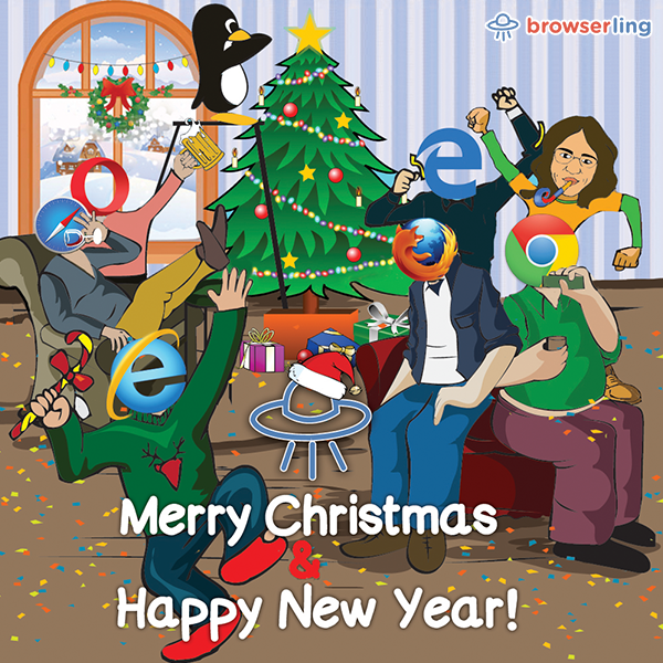 Merry Christmas & Happy New Year 2017!