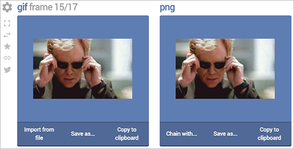 Load a CSI Miami GIF from Giphy and extract 15th frame from it as a PNG