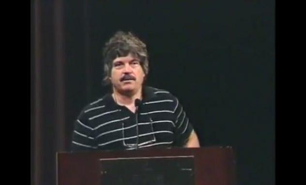 Alan Kay starts the talk.