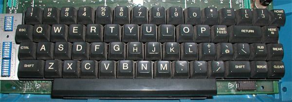 Here is why vim uses hjkl keys as arrow keys