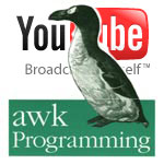 awk programming and youtube