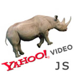 javascript rhino and yahoo theatre