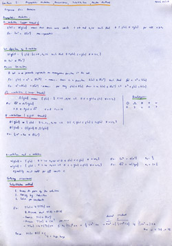 MIT Algorithms Lecture 2 Notes Thumbnail. Page 1 of 2.