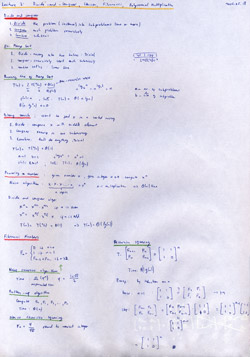 MIT Algorithms Lecture 3 Notes Thumbnail. Page 1 of 2.