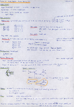 MIT Algorithms Lecture 16 Notes Thumbnail. Page 1 of 2.