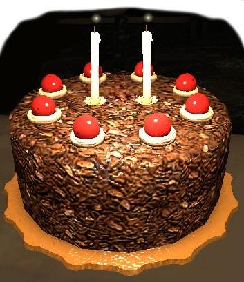 Second Birthday Portal Game Cake